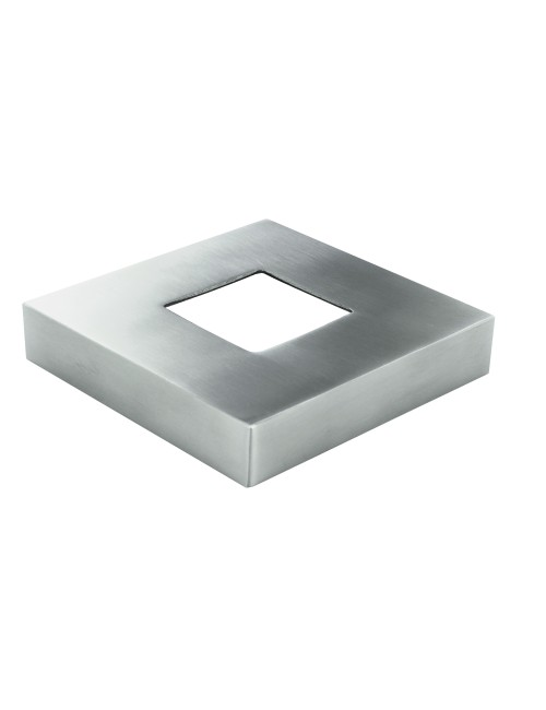 Piastre di copertura quadrate in acciaio inox